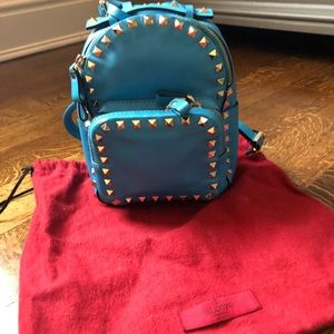 Valentino mini rockstud backpack